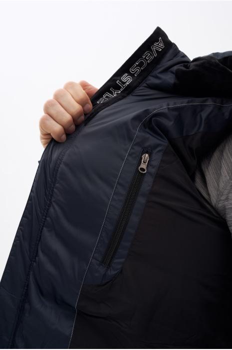 Куртка  AVECS - 18227/23 - Тёмно-Синяя