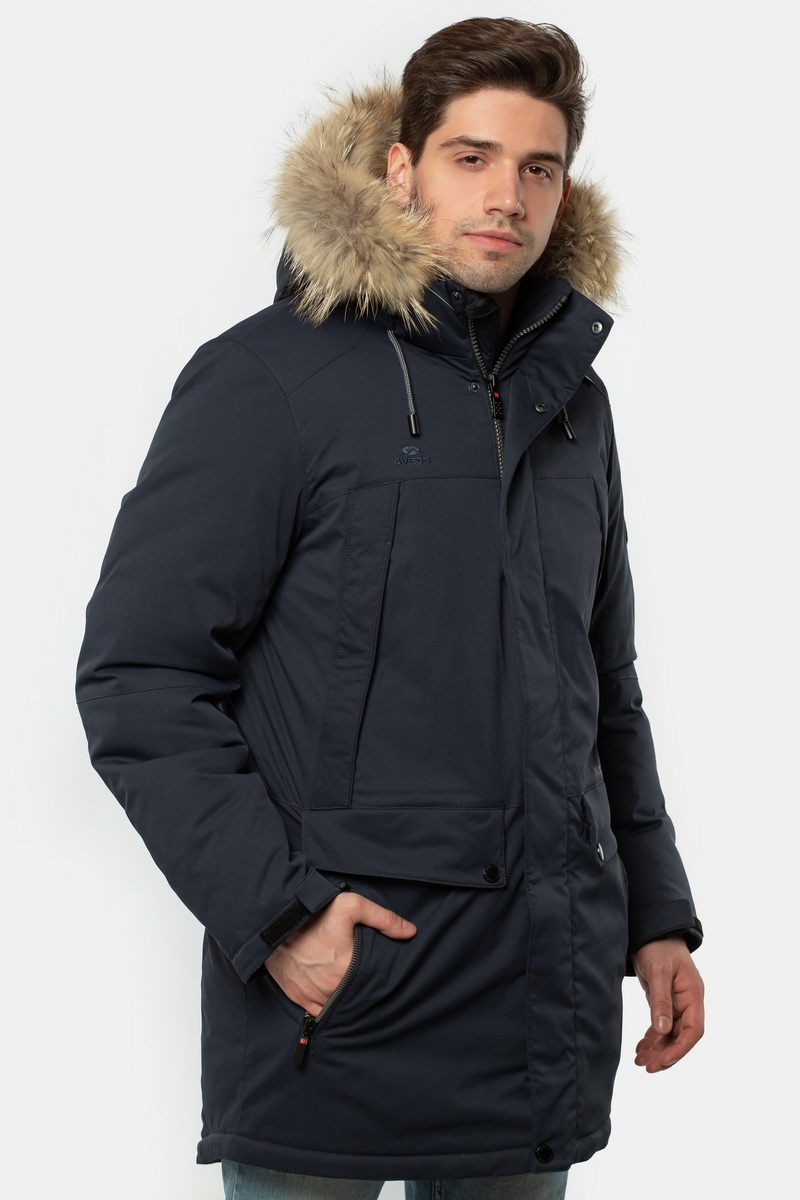 Куртка AVECS - 18296/23 - Тёмно-Синяя