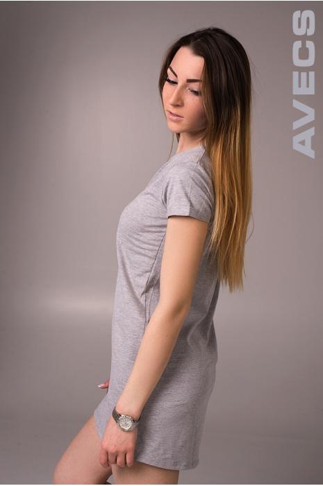 Женская туника 30071-AV Серый