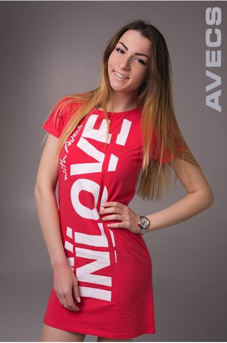 Женское Платье 30152-AV Розовый