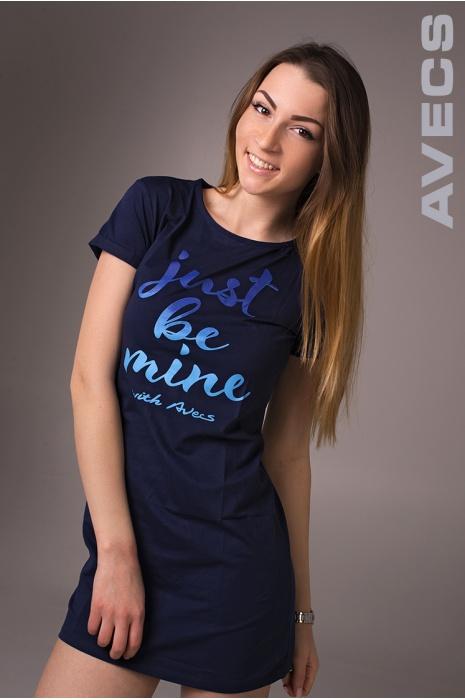 Женское Платье 30153-AV Тёмно-Синий