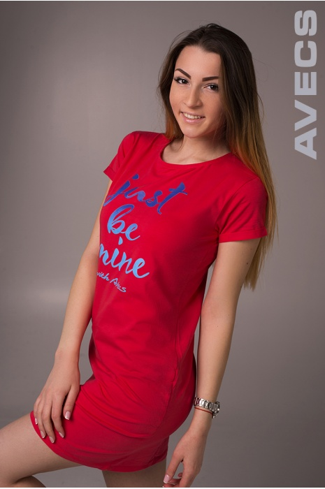 Женское Платье 30153-AV Красный