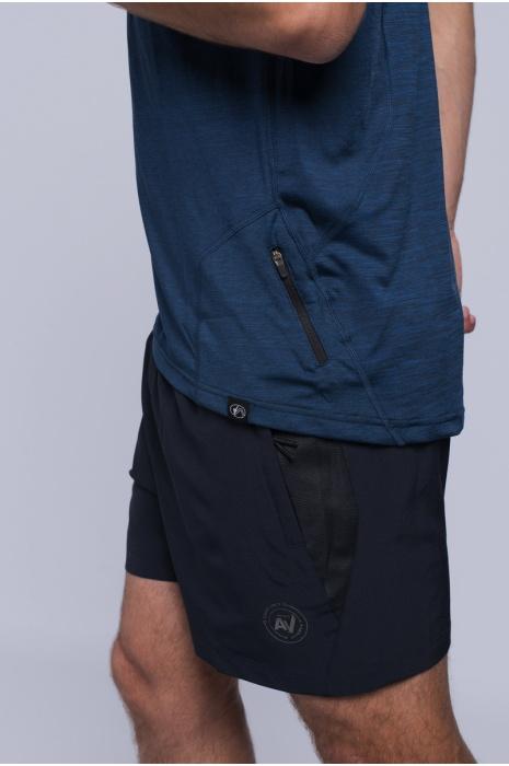 Футболка Мужская 30188-AV  Тёмно-Синий