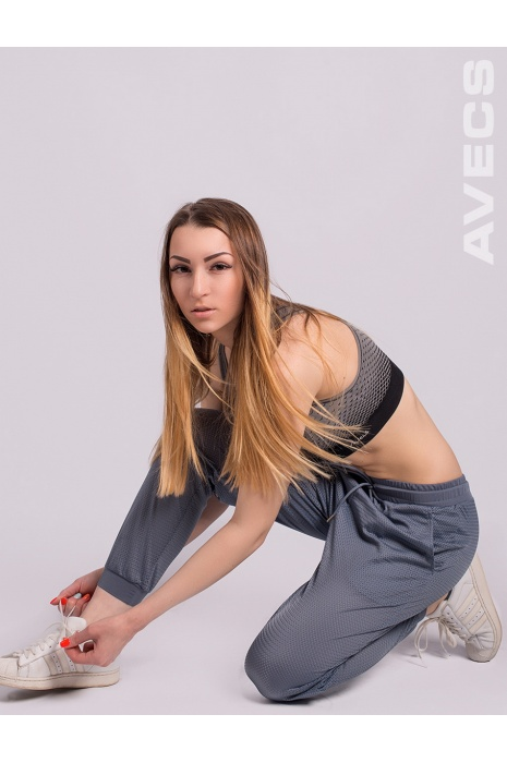 Брюки Женские AV-30217 Серо-Синий
