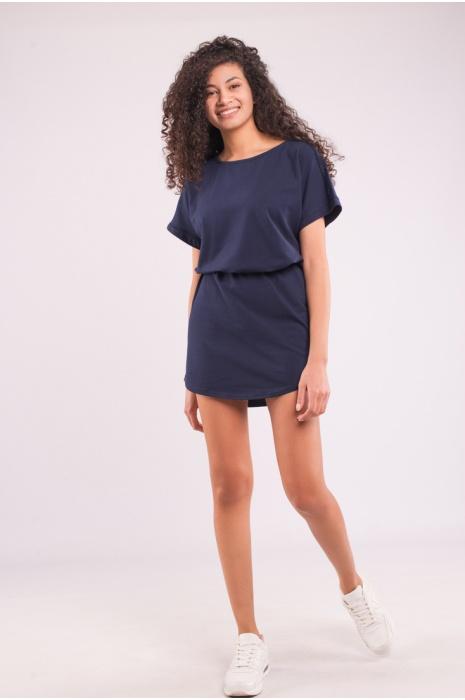 30308 / 23 - Платье - Темно-Синий