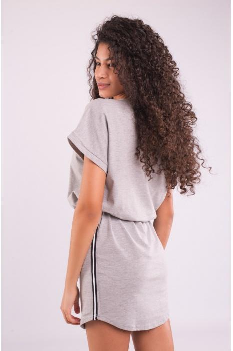 30308 / 2 - Платье - Серый