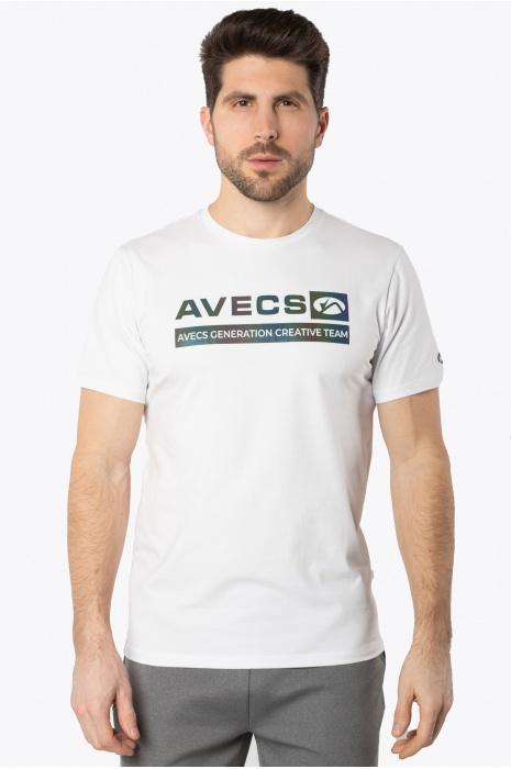 Футболка AVECS - 30385/5 - Белая