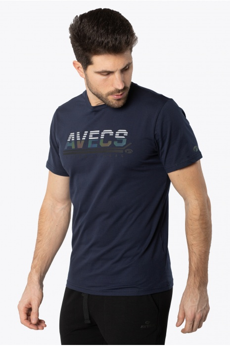 Футболка AVECS - 30387/23 - Тёмно-Синяя