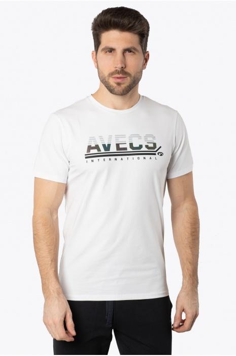 Футболка AVECS - 30387/5 - Белая