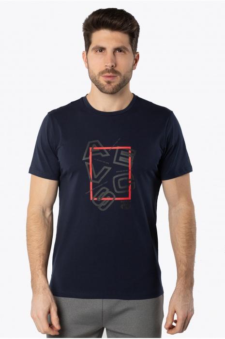 Футболка AVECS - 30388/23 - Тёмно-Синяя