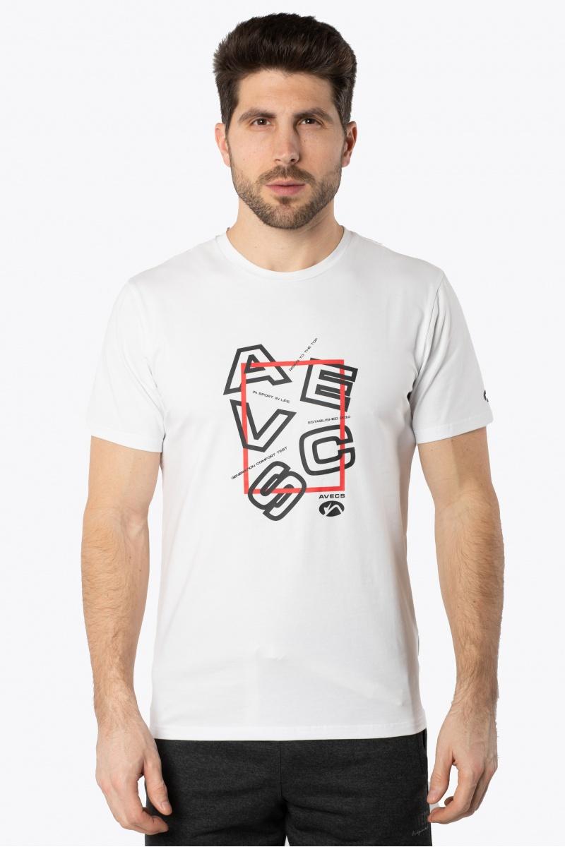 Футболка AVECS - 30388/5 - Белая