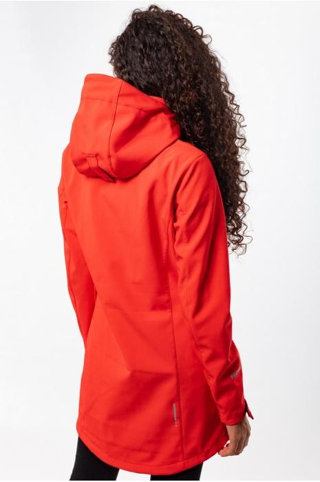 50119/4 - Ветровка Женская Soft-Shell - Красный
