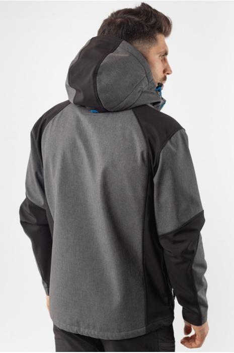 50176/2 - Ветровка Soft-Shell - Серый