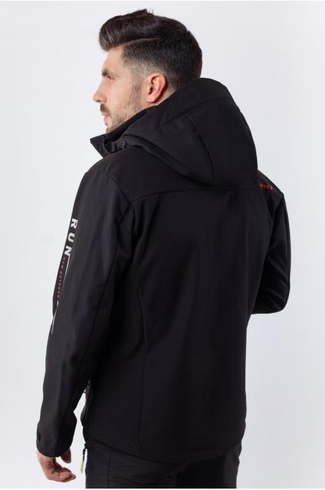 50180/1 - Ветровка Soft-Shell - Черный