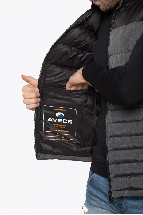 Жилет AVECS - 50236/2 - Серый
