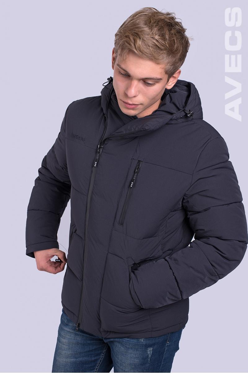 Куртка Биопух 70182-AV Тёмно-Серый