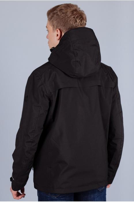 Штормовая ветровка мужская  70245 (1) - Черный