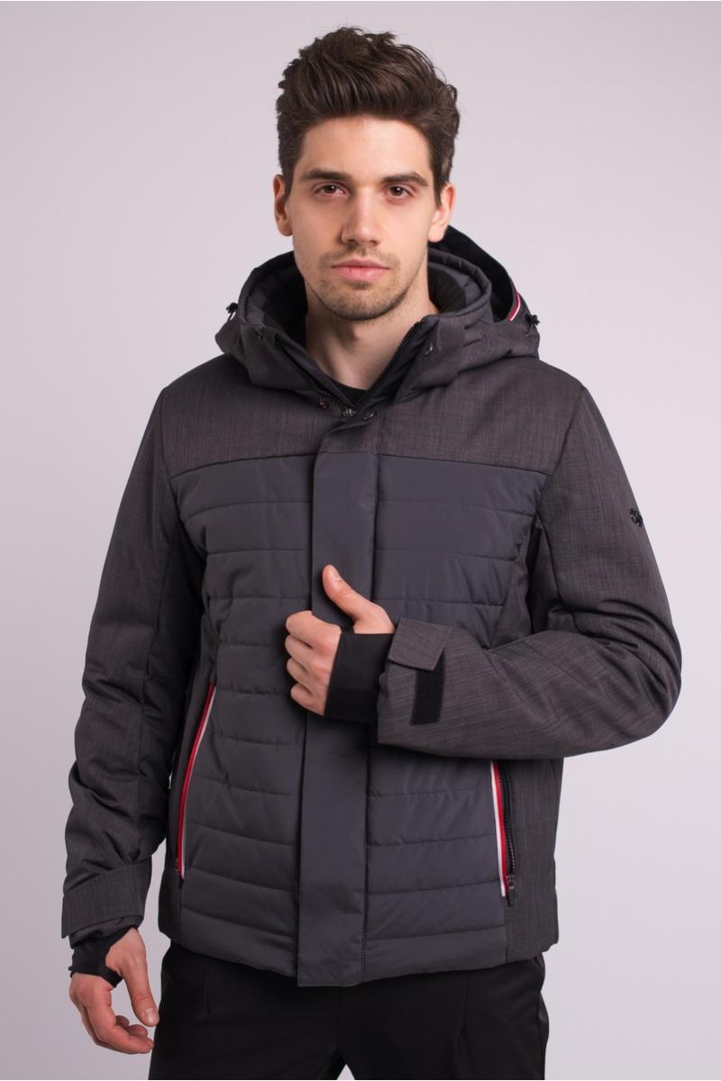 Лыжная Куртка AVECS - 70283/17 -  Темно-Серая