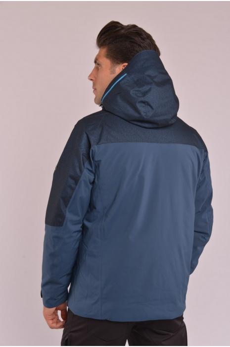 Куртка Лыжная 70284 / 57 - Серо-Синий