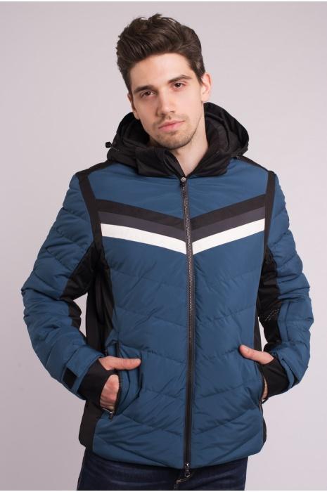 Куртка Лыжная 70285 / 57 -  Серо-Синий