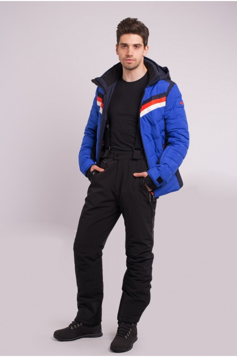 Лыжная Куртка AVECS - 70285/11 - Голубая