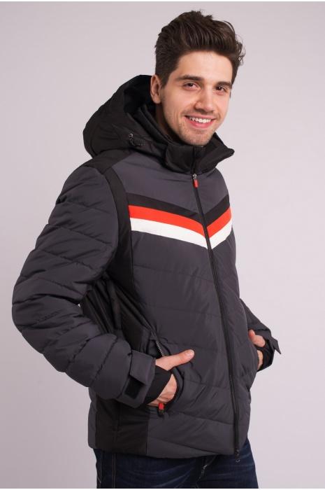 Куртка Лыжная 70285 / 17 -  Темно-Серый