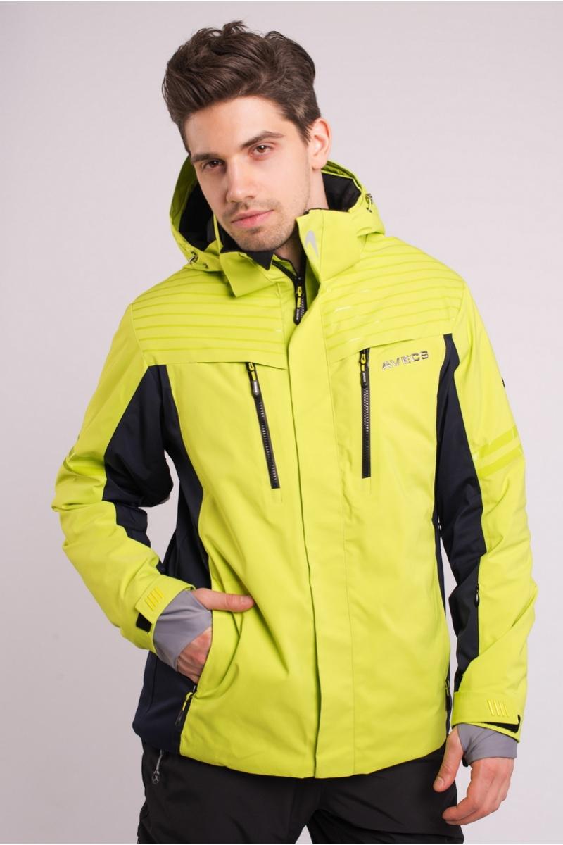 Куртка Лыжная 70286 / 55 - Салатовый