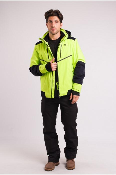Куртка Лыжная 70287 / 55 - Салатовый