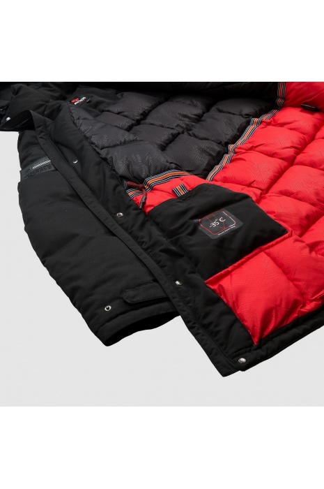 Куртка AVECS - 70293/1- Черная