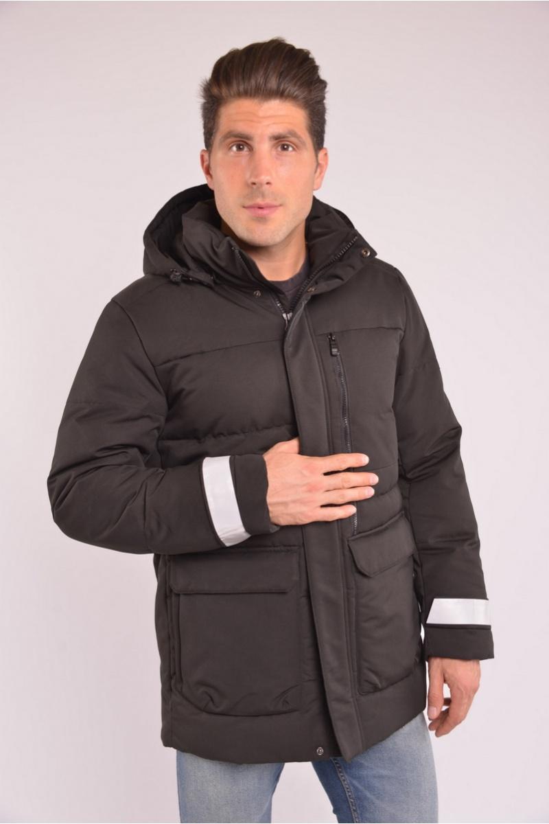 Куртка AVECS - 70294/1- Черная