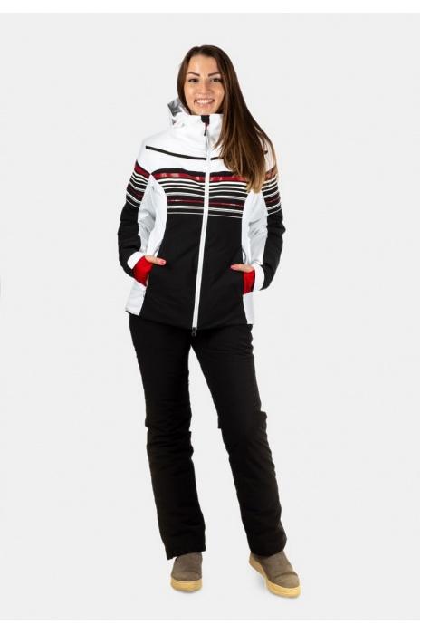 Лыжная  Куртка AVECS - 70297/ 5 - Белая