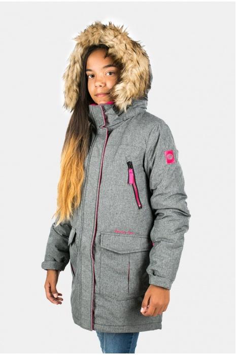 Куртка Женская Подросток 70304 / 17 - Темно-Серый