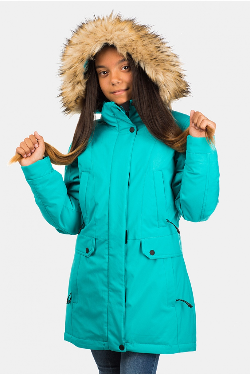 Куртка Женская Подросток 70305 / 33 - Бирюза