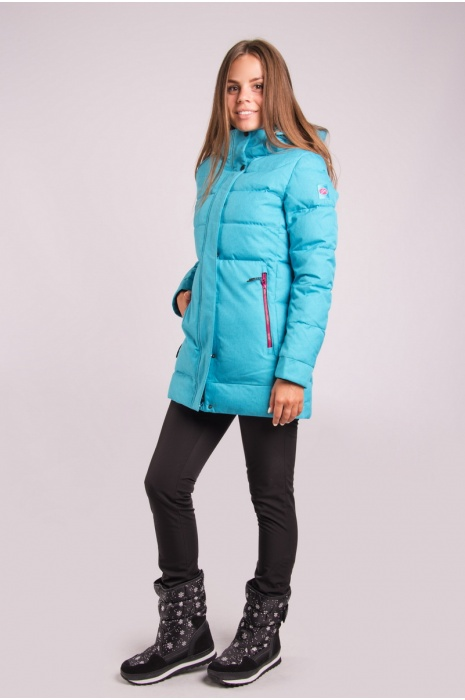 Куртка AVECS - 70339/33 - Бирюзовая