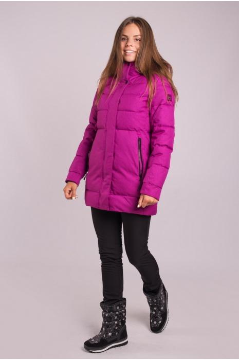 Куртка AVECS - 70339/6 - Фиолетовая