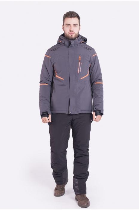Лыжная Куртка AVECS - 70399/2 - Серая