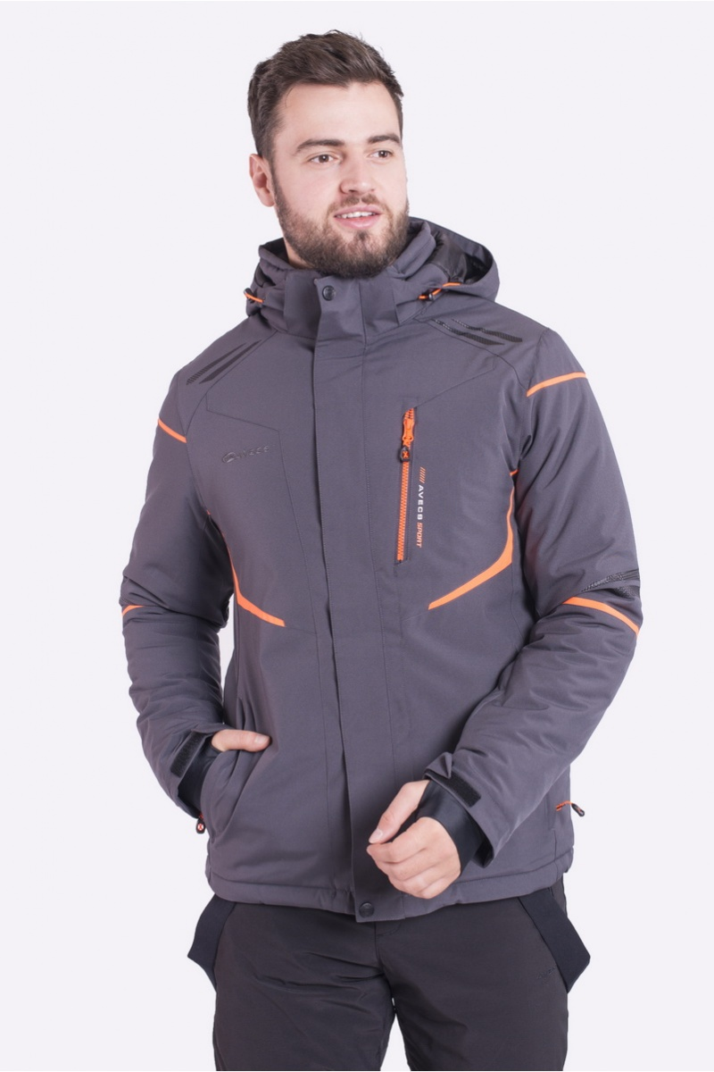 Куртка Лыжная 70399/2 - Серый