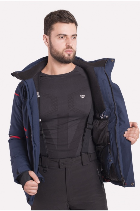 Куртка Лыжная 70399/3 - Синий