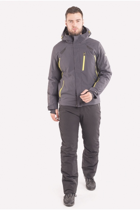 Куртка Лыжная 70405 / 17- Темно-Серый