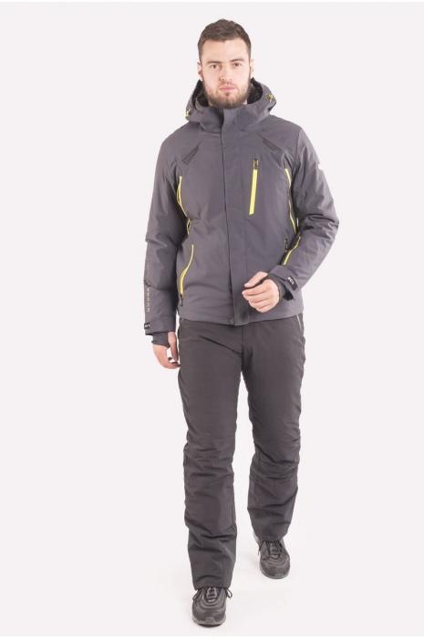 Лыжная Куртка AVECS - 70405B/17- Темно-Серая
