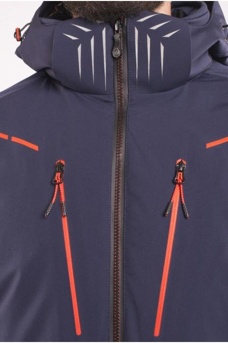 Лыжная Куртка AVECS - 70407 / 23- Темно-Синяя