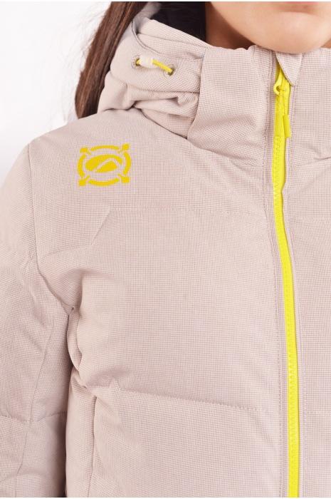Куртка 70409/8_2 - Бежевый с Серым
