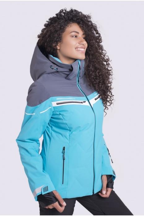Лыжная Куртка AVECS - 70412/33 - Бирюзовая