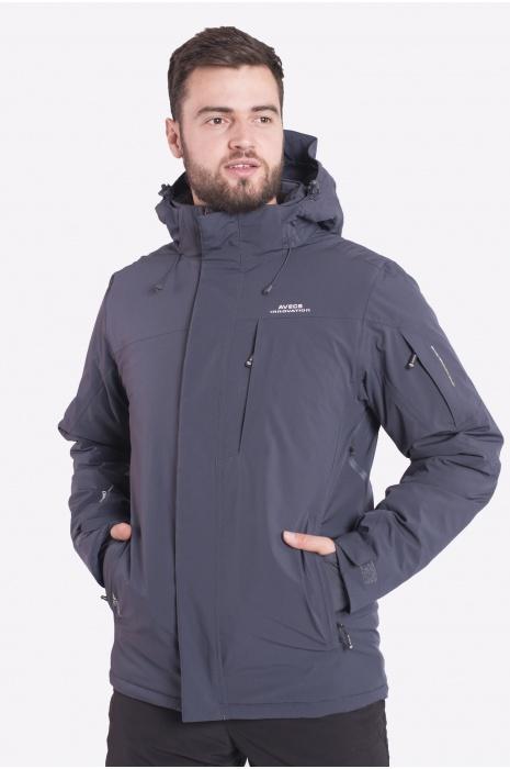 Куртка Лыжная 70424/17- Тёмно-Серый