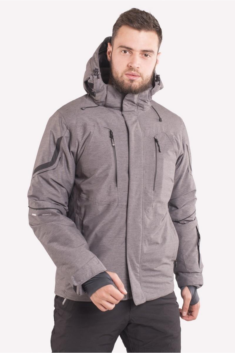 Лыжная Куртка AVECS - 70425/17 - Тёмно-Серая
