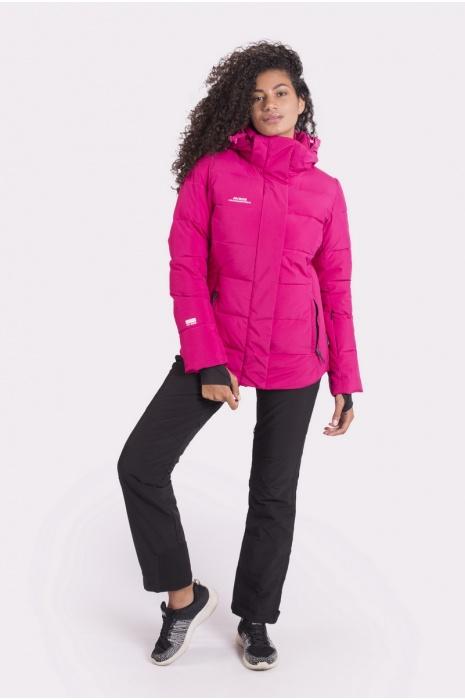 Куртка AVECS - 70428/34 - Малиновая