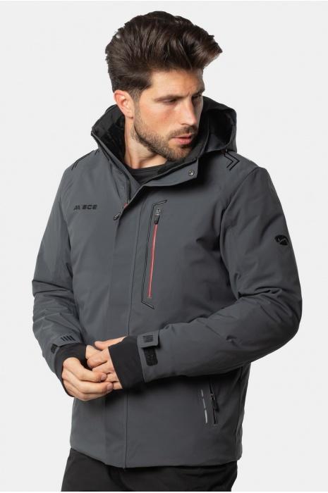 Лыжная Куртка AVECS - 70433/17 - Тёмно-Серая