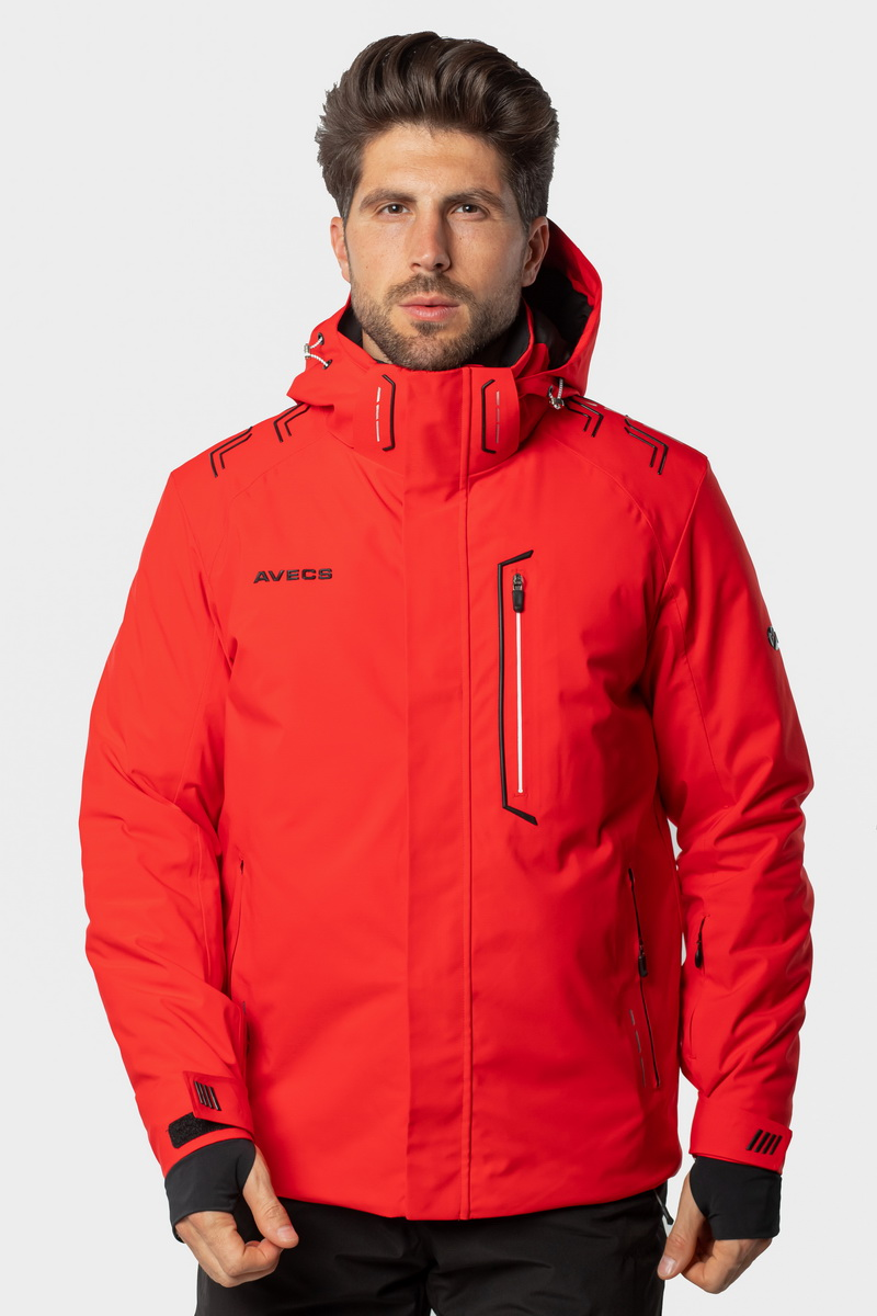 Лыжная Куртка AVECS - 70433/4 - Красная