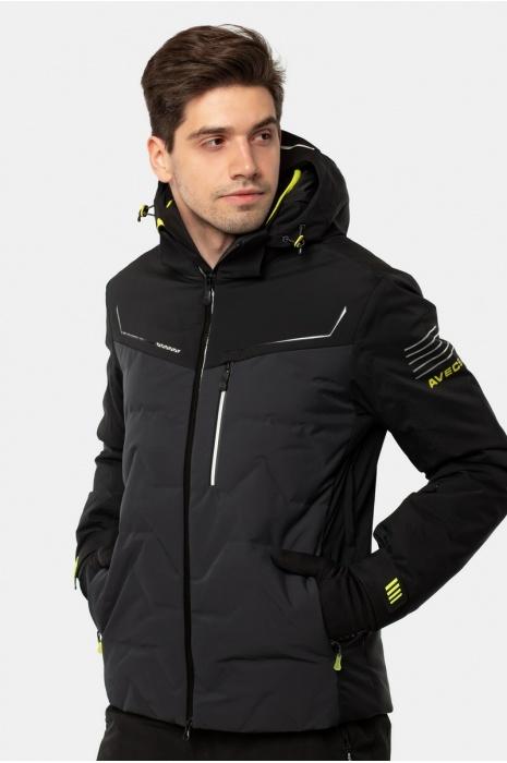 Лыжная Куртка AVECS - 70436/17 - Тёмно-Серая