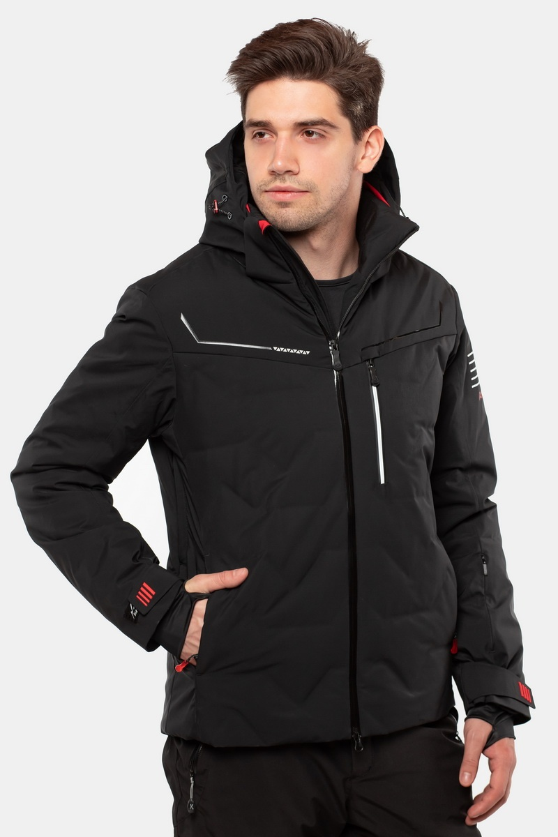 Лыжная Куртка AVECS - 70436/1 - Черная